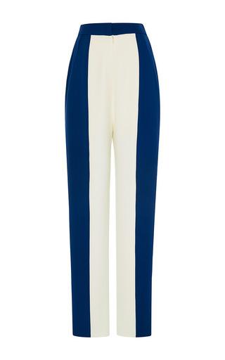 Two-tone silk pants by VIKA GAZINSKAYA Available Now on Moda Operandi