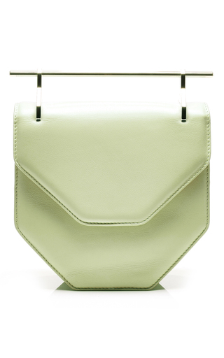 M'o exclusive: amor fati leather bag by M2MALLETIER Available Now on Moda Operandi