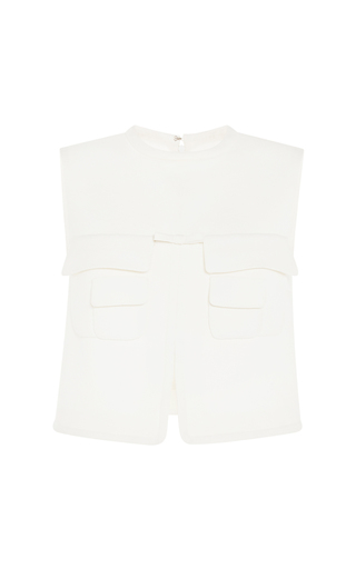 Shirt vest by GIAMBATTISTA VALLI Now Available on Moda Operandi