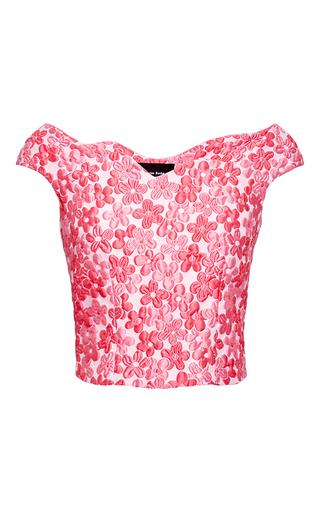 Floral-cloque top by SIMONE ROCHA Available Now on Moda Operandi
