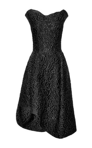 Asymmetric floral-cloque dress by SIMONE ROCHA Available Now on Moda Operandi