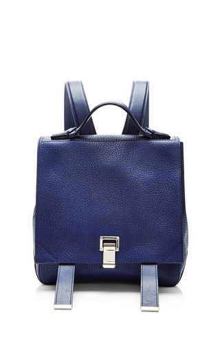 Courier navy small backpack by PROENZA SCHOULER Available Now on Moda Operandi