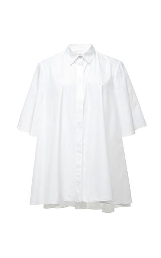 Cotton poplin wheel shirt by GIAMBATTISTA VALLI Available Now on Moda Operandi