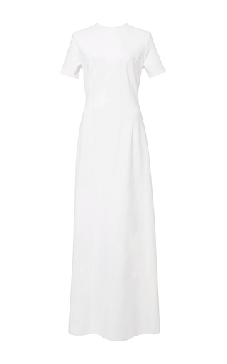 Seamed tee gown by KATIE ERMILIO Now Available on Moda Operandi