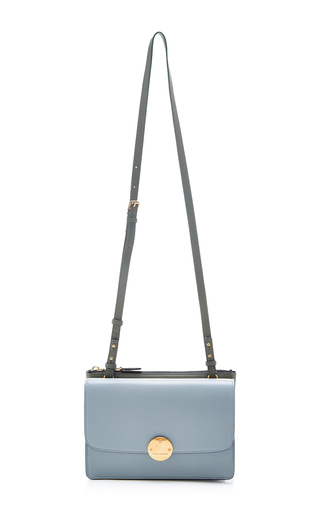 Party girl bag in ice blue by MARC JACOBS Available Now on Moda Operandi