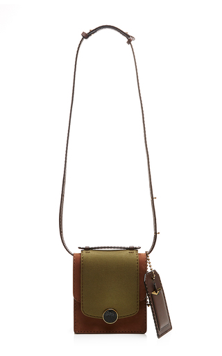 Calf leather tall trouble shoulder bag by MARC JACOBS Available Now on Moda Operandi