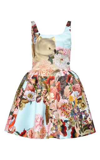 Tivolio printed short dress by MARY KATRANTZOU Available Now on Moda Operandi
