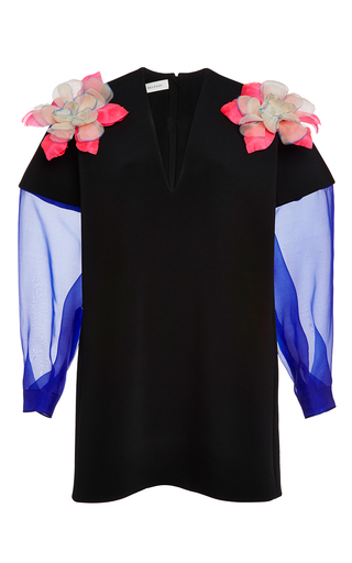 Double faced mini dress by DELPOZO Now Available on Moda Operandi