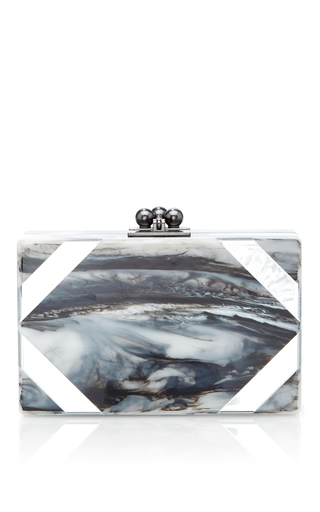 Minnie acrylic cut corners clutch by EDIE PARKER Now Available on Moda Operandi