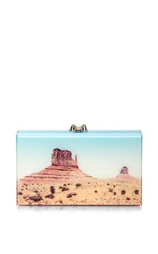 Canyon panoramic pandora clutch by CHARLOTTE OLYMPIA Available Now on Moda Operandi