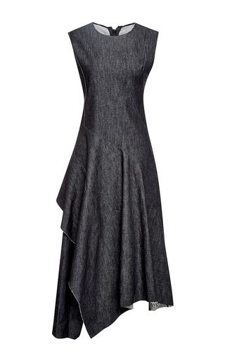 Twisted twill denim dress  by MARNI Available Now on Moda Operandi