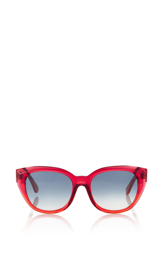 Rose acetate sunglasses by MARNI Available Now on Moda Operandi