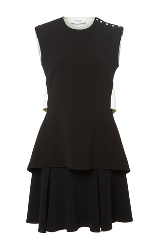 Black sleeveless dress with flared skirt  by DEREK LAM 10 CROSBY Now Available on Moda Operandi