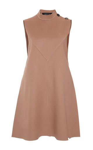 Camel sleeveless flare dress  by DEREK LAM Available Now on Moda Operandi