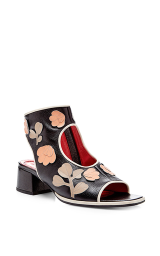 Embellished open toe ankle boots by MARNI Available Now on Moda Operandi