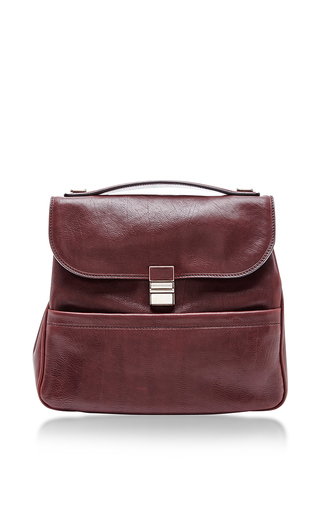 Red Leather Kent Bag by PROENZA SCHOULER Now Available on Moda Operandi
