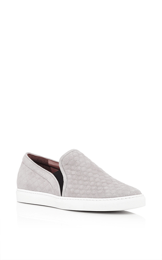 Huntington cloud quilted kid suede sneakers by TABITHA SIMMONS Available Now on Moda Operandi