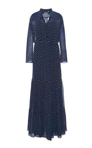 Alexia long sleeved maxi dress by SALONI Available Now on Moda Operandi