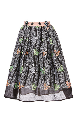 A-line kinetic skirt by PETER PILOTTO Now Available on Moda Operandi