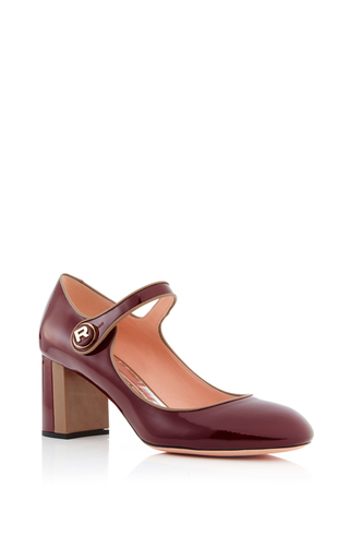 Patent heeled mary janes by ROCHAS Now Available on Moda Operandi