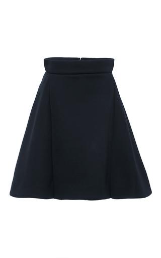 Navy Modal Mini Skirt by ANTONIO BERARDI Now Available on Moda Operandi