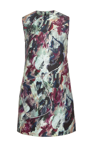Printed Sleeveless Dress by CARVEN Now Available on Moda Operandi