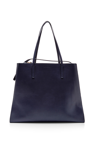 Leather shopping bag by MARNI Available Now on Moda Operandi