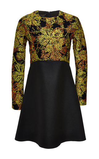 Jacquard top shift dress  by GIAMBATTISTA VALLI Now Available on Moda Operandi
