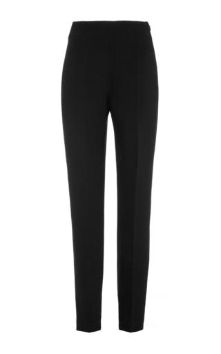 Black Virgin Wool Slim Fit Pants by GIAMBATTISTA VALLI Now Available on Moda Operandi