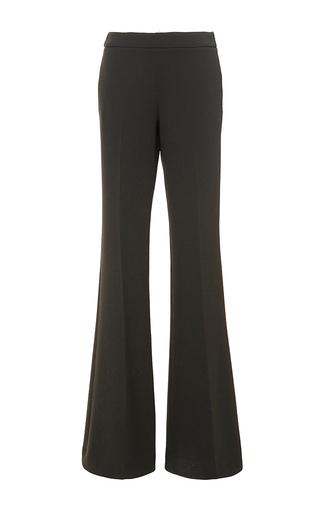 Virgin wool flared leg pants by GIAMBA Now Available on Moda Operandi