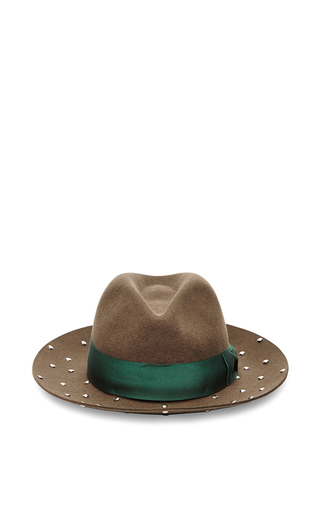 Casanova With Studded Brim by SENSI STUDIO Now Available on Moda Operandi