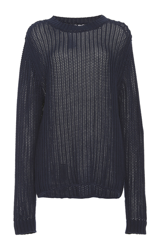 Le Oversized Cotton Sweater  by FRAME DENIM Now Available on Moda Operandi