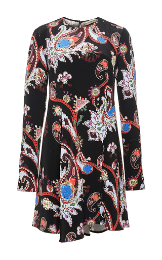 Printed silk dress by MARY KATRANTZOU Now Available on Moda Operandi