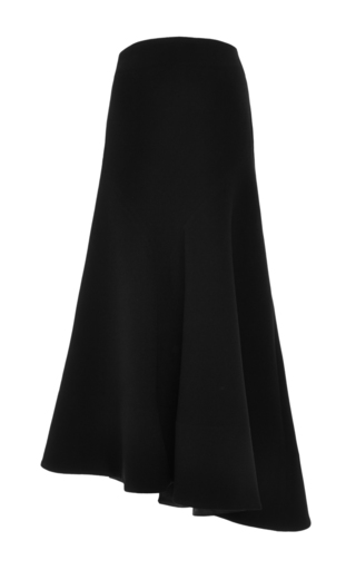 Riot squad black crinkle crepe godet skirt by ELLERY Now Available on Moda Operandi