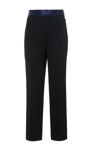 White duke classic slim crop tux pants by ELLERY Available Now on Moda Operandi
