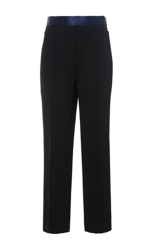 White Duke Classic Slim Crop Tux Pants by ELLERY Now Available on Moda Operandi