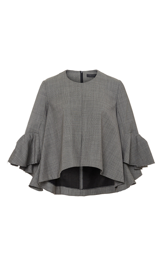 Neu deconstructed bell sleeve top by ELLERY Available Now on Moda Operandi