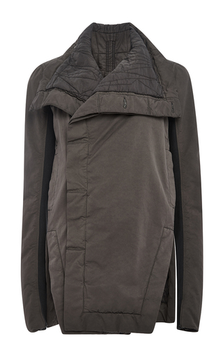 Giacca Faun Biker Jacket by RICK OWENS DRKSHDW Now Available on Moda Operandi