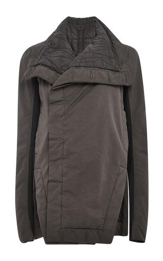 Giacca Faun Biker Jacket by RICK OWENS DRKSHDW Now Available on Moda Operandi