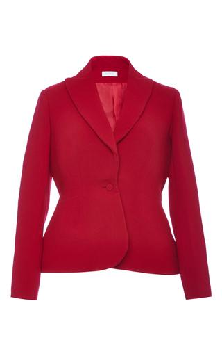 Silk Crepe Single Breasted Blazer by DELPOZO Now Available on Moda Operandi