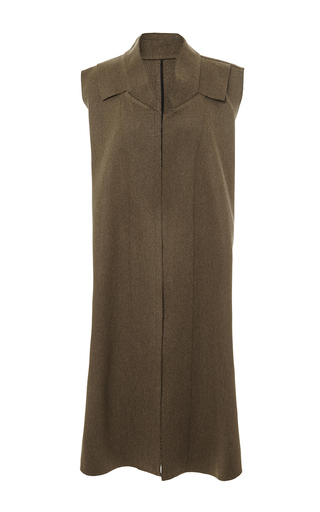 Felted Wool Sleeveless Coat by TOME Now Available on Moda Operandi