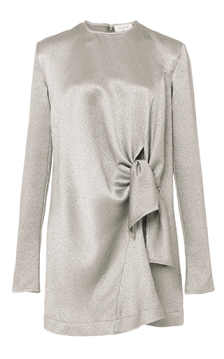 Hammered Knot Mini Dress by ISA ARFEN Now Available on Moda Operandi