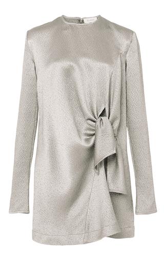 Hammered Knot Mini Dress by ISA ARFEN Now Available on Moda Operandi