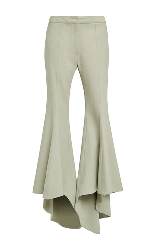 Cotton tilt-a-whirl flared pants by ROSIE ASSOULIN Now Available on Moda Operandi