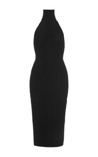 Sleeveless turtleneck midi dress  by CUSHNIE ET OCHS Now Available on Moda Operandi