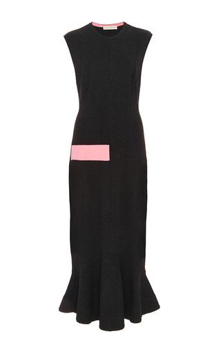 Dark Grey Point Blanka Sleeveless Dress by MARY KATRANTZOU Now Available on Moda Operandi