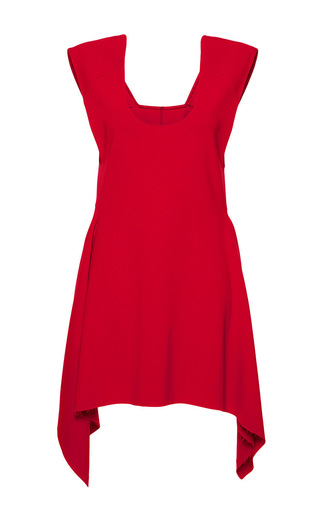 Stretch cady sleeveless flared tunic by MARNI Now Available on Moda Operandi