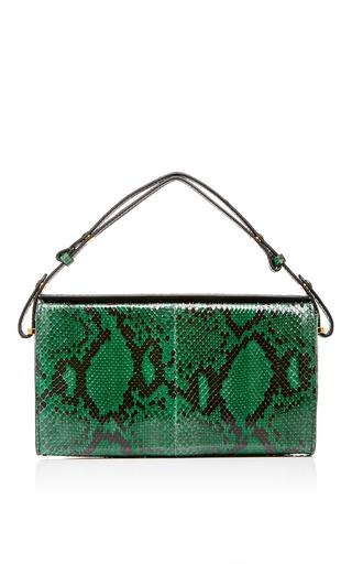 Green Python And Leather Mini Handbag by MARNI Now Available on Moda Operandi