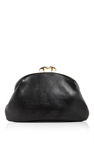 Calf leather and buffalo horn handbag by MARNI Now Available on Moda Operandi
