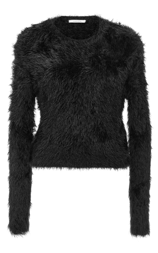 Black Textured Sweater by CARVEN Now Available on Moda Operandi